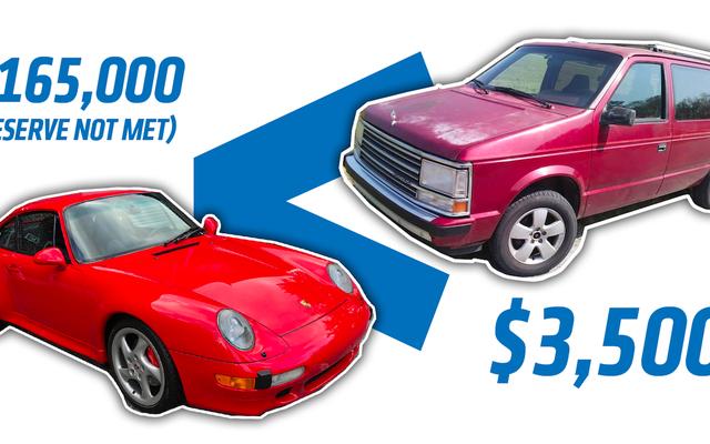 Tại sao nên mua chiếc Porsche 911 33k-Mile này với giá hơn 165.000 đô la khi bạn có thể nhận được chiếc Plymouth Voyager 254k-Mile Turbo với giá 3.500 đô la?
