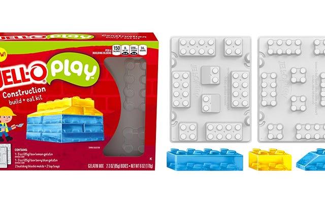 ชุด 'สูตรพิเศษ' ใหม่ของ Jell-O ช่วยให้คุณสร้างบล็อก Jiggly ที่ซ้อนกันเหมือนเลโก้