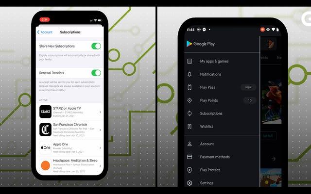 Cách quản lý (và hủy) đăng ký của bạn trên iOS và Android