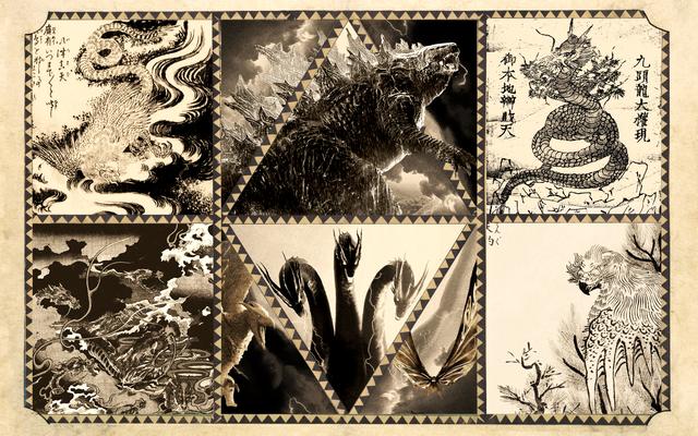 Una guida medievale per decodificare le creature in Godzilla: King of the Monsters