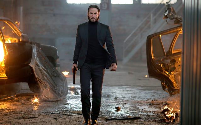 John Wick ha consolidato Keanu Reeves come una delle più grandi star d'azione di tutti i tempi