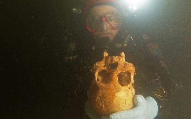 水中のメキシコの洞窟で見つかったスケルトンがアメリカの初期の人々に新たな光を当てる