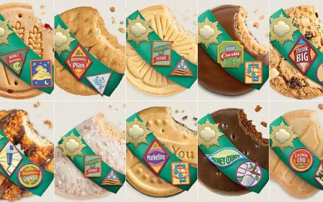 ガールスカウトのクッキーの決定的なランキング
