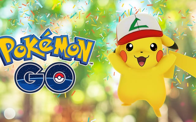 Rocznicowe wydarzenie Pokémon Go pozwoli ci uchwycić Pikachu Asha