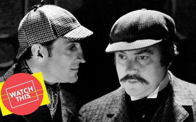 Basil Rathbone'un Baskervilles Tazısı, kesin Holmes macerasıdır