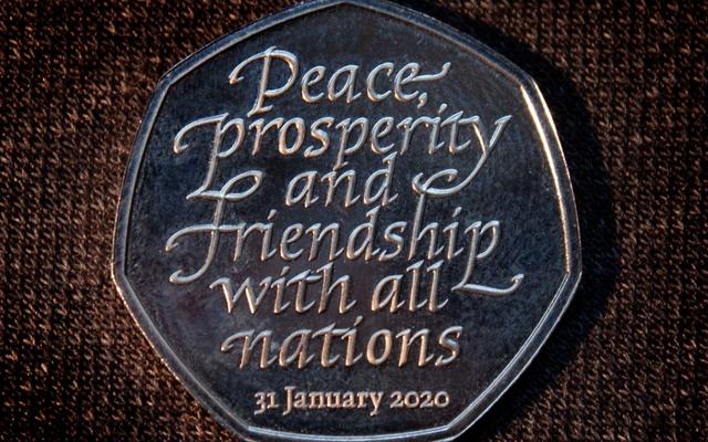 Монета Брексита - еще одно доказательство надвигающейся антиутопии