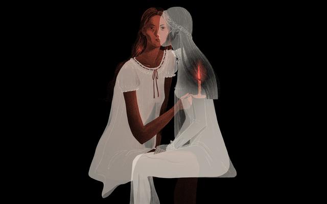 白いネグリジェの完璧な恐怖