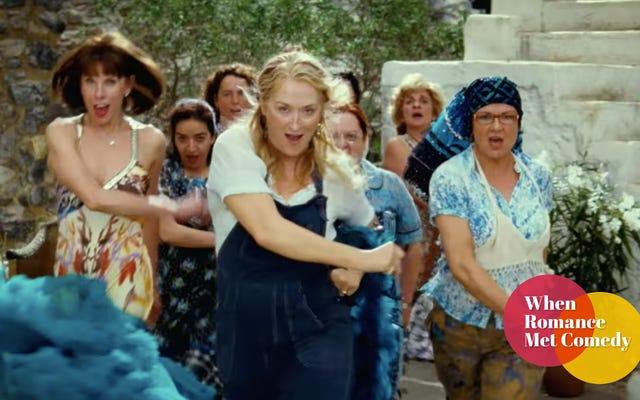 Dans edebilirsin, eğlenebilirsin, Mamma Mia'yı sevebilirsin! utanmadan