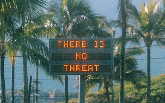 ハワイ州知事は、Twitterのパスワードを忘れたため、市民に誤った警告を発することができなかったと述べています。