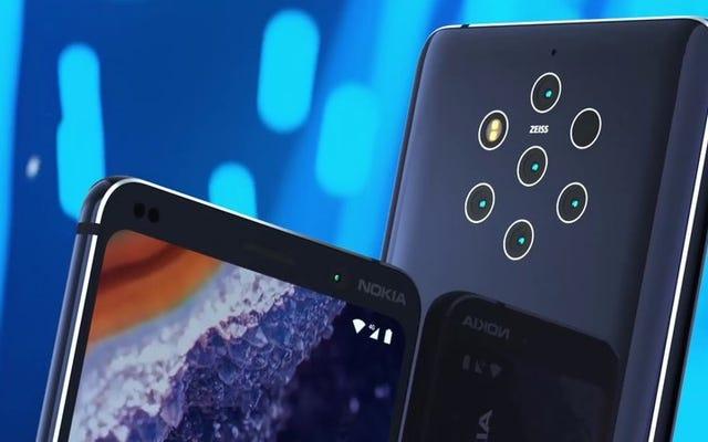 Le Nokia avec les cinq caméras a été complètement divulgué