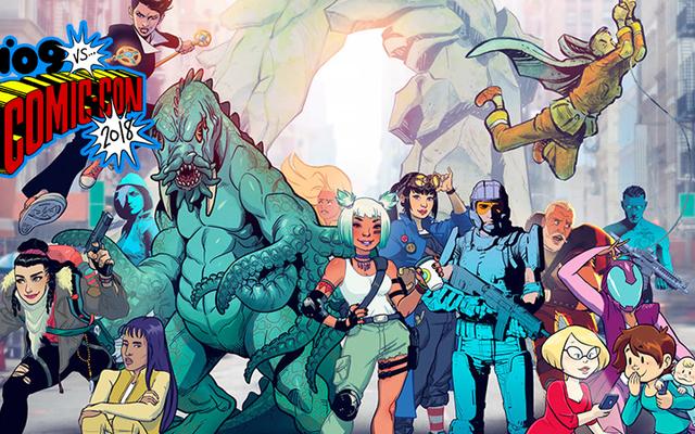 コミクソロジーのオリジナルコミックの次の波には、ベイビー怪獣、生物学的インターネットなどが含まれます