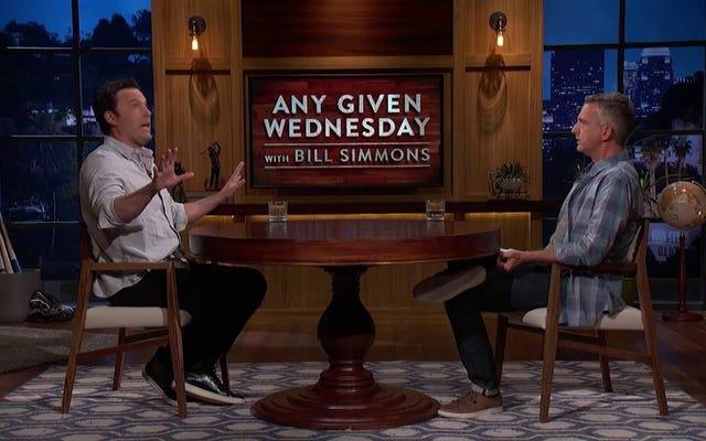 La nouvelle émission HBO de Bill Simmons fait ses débuts avec le fou Ben Affleck Ballghazi Rant