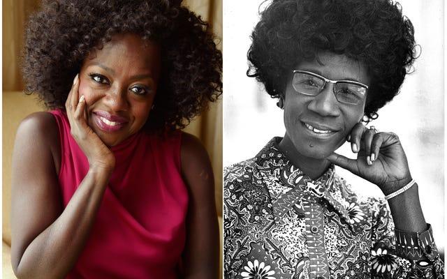 Viola Davis sẽ lồng tiếng cho Shirley Chisholm bên trong cô ấy trong phim sắp tới