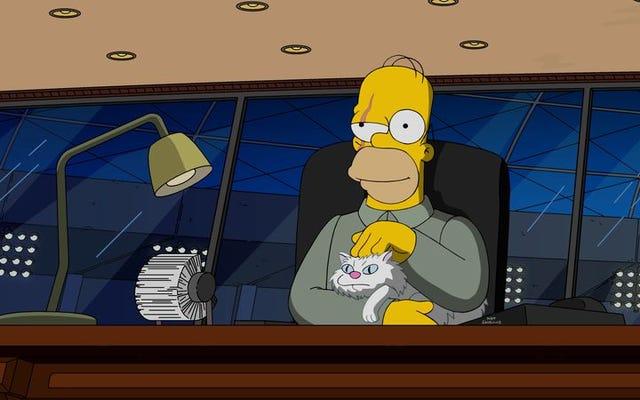 Skema jahat Simpsons untuk mencapai 600 episode mendarat di Treehouse Of Horror