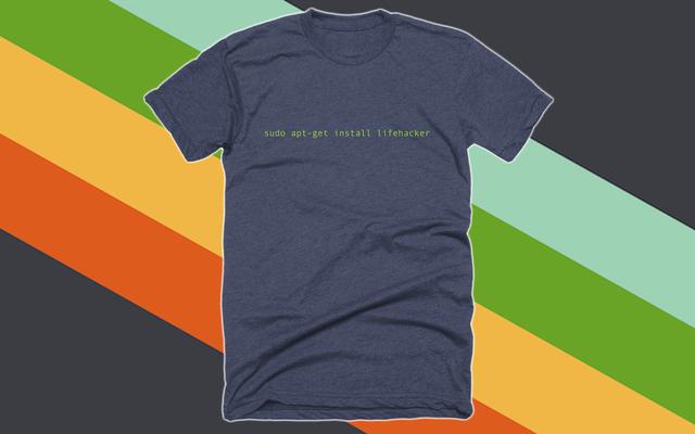หยิบเสื้อยืดใหม่ล่าสุดของเรา และอุปกรณ์อื่นๆ มากมายในร้าน Lifehacker
