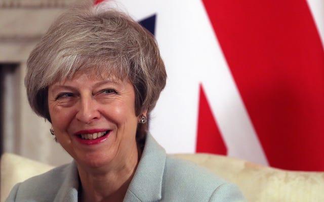 ब्रिटिश प्रधानमंत्री थेरेसा मे ने जाम को खत्म कर दिया, बाकी के जाम को खा गई