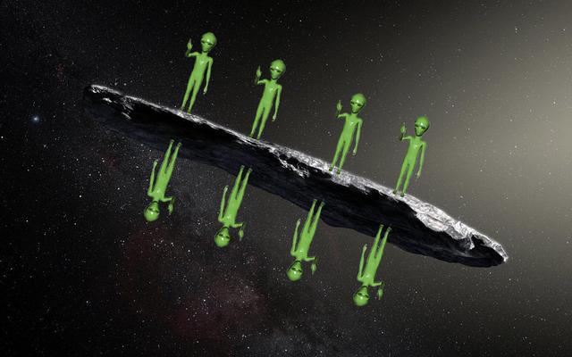 いいえ、 'オウムアムアはおそらくエイリアンの宇宙船ではありません