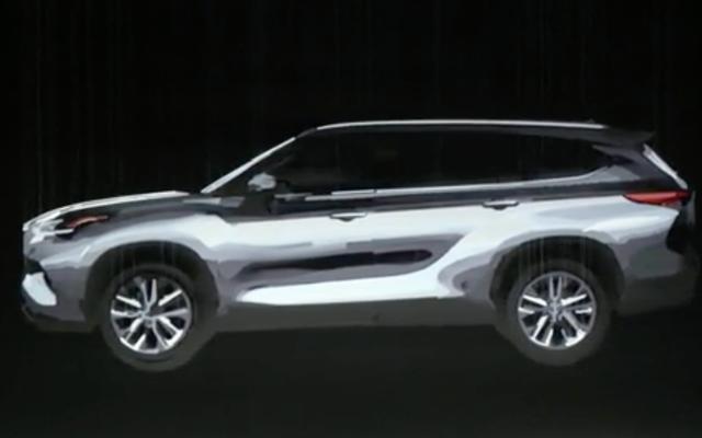 Le Toyota Highlander 2020 est presque là