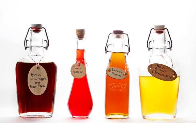 Los jarabes simples aromatizados cambian el juego de los cócteles en casa