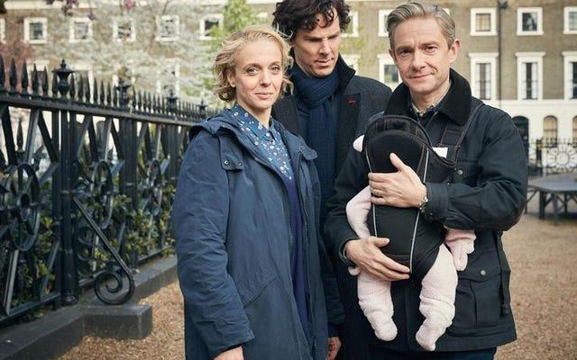 Sherlock kembali dengan kaget