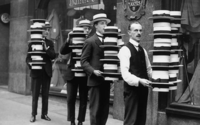 ニューヨークの麦わら帽子暴動でファッションの偽物が暴力的になった