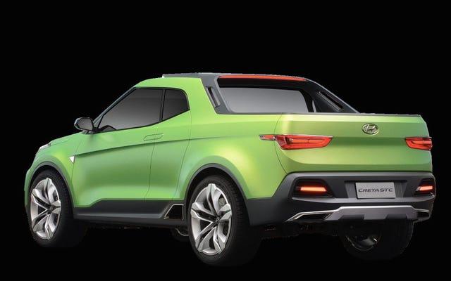 Hyundai Bir Başka İnanılmaz Küçük Kamyoneti Bizden Gizliyor
