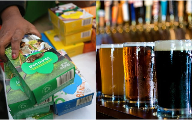 Girl Scout Cookie And Beer Festival: Nous voulons y aller
