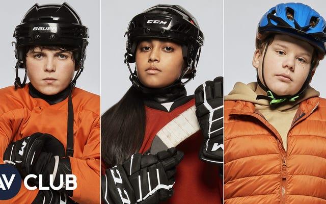 Le casting pour enfants de The Mighty Ducks: Game Changers sur les podcasts et le gâteau en feuille