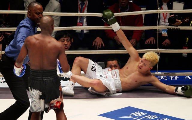 フロイドメイウェザーの日本のキックボクシングの天才との「戦い」は、誰もが望んでいたよりも面倒でした