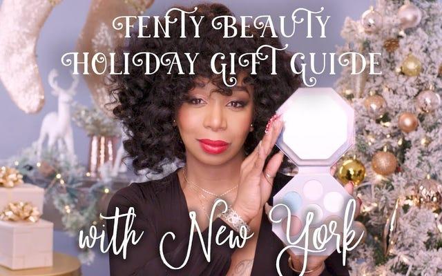 Bonnes vacances de New York! La dernière star de la campagne de Fenty Beauty est toujours le HBIC