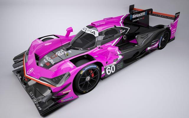 その他のピンクのレースカー