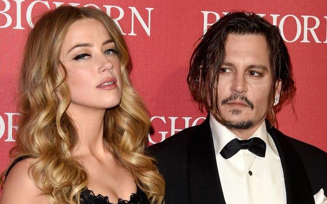 Johnny Depp nie chce płacić Amberowi. Słyszał ani grosza wsparcia małżonka