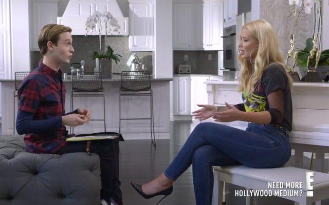 Iggy Azalea Hollywood Medium ile Buluştuğunda Kabuslar Çarpıştı