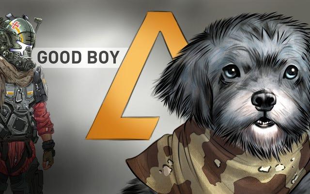 Titanfall 2 Player's Dog riceve un tributo nel gioco