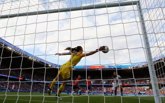 ワールドカップの多くは、サッカーが自分の道から抜け出せないだけです