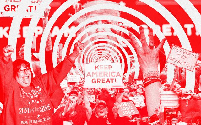 Malam Saya yang Nyata, Mengganggu, dan Benar-Benar Tidak Mengejutkan di Reli Trump di Iowa
