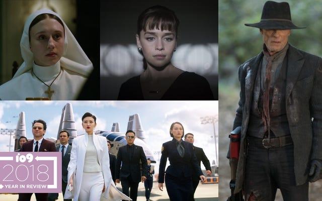 io9 reescribe algunas de las líneas argumentales de películas y programas de televisión más tontas de 2018
