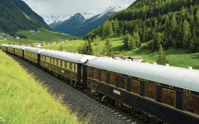 世界で最も風光明媚な12の列車ルート