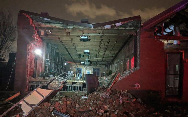 スーパーチューズデーの州で悪天候が広がる中、竜巻がナッシュビルで少なくとも8人が死亡