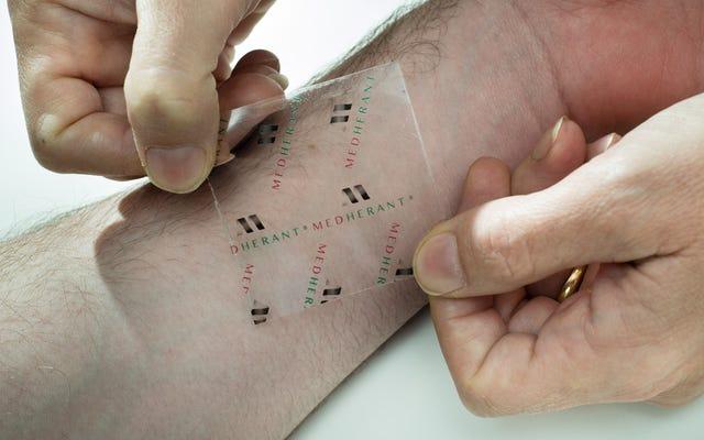 世界初のイブプロフェンパッチは12時間連続で痛みを和らげることができます