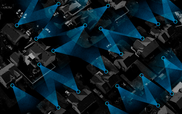 リングの隠されたデータは、Amazonの広大な住宅監視ネットワークをマッピングしましょう