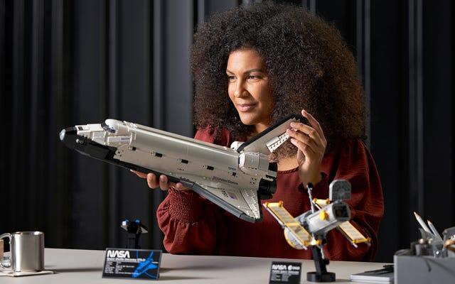 Odkrycie promu kosmicznego Lego z teleskopem Hubble'a wyśle twojego wewnętrznego nerda z NASA na orbitę