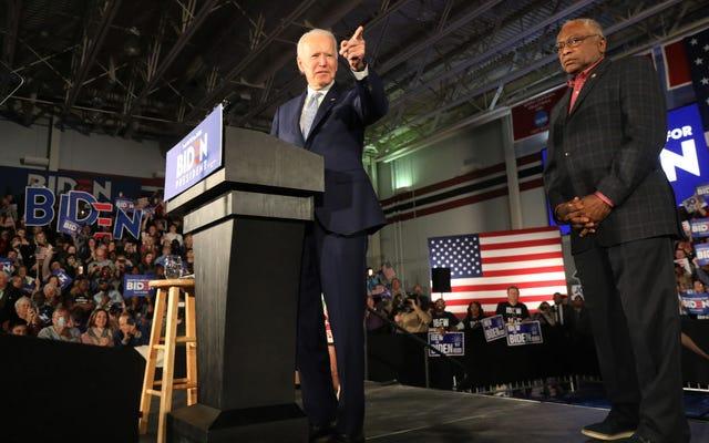 Un nouveau livre souligne comment Joe Biden a presque perdu la présidence en ignorant la demande d'un créateur de roi noir