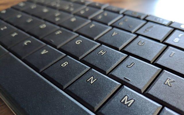Quels sont les deux petits morceaux qui ont de nombreux claviers dans le F et le J pour