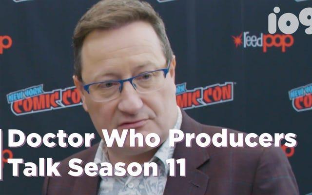 ドクター・フーのプロデューサーがシーズン11の展望と希望について話し合う