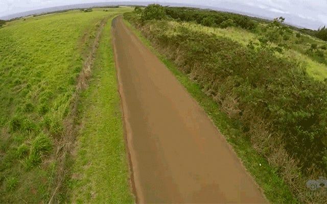 ハワイの島でフェラーリを運転することはできません