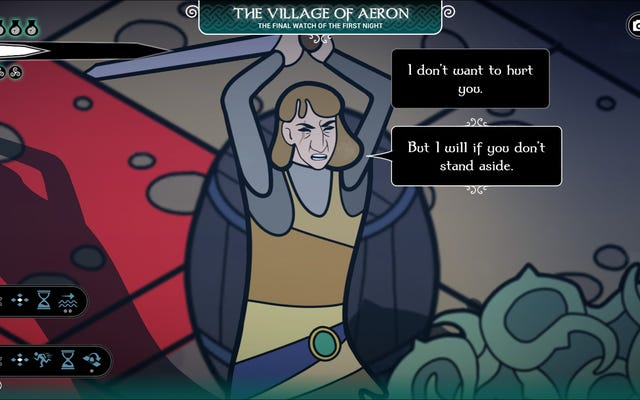 ペンドラゴンは、会話が戦闘と同じくらい緊張している戦略ゲームであり、常に違いがあるわけではありません