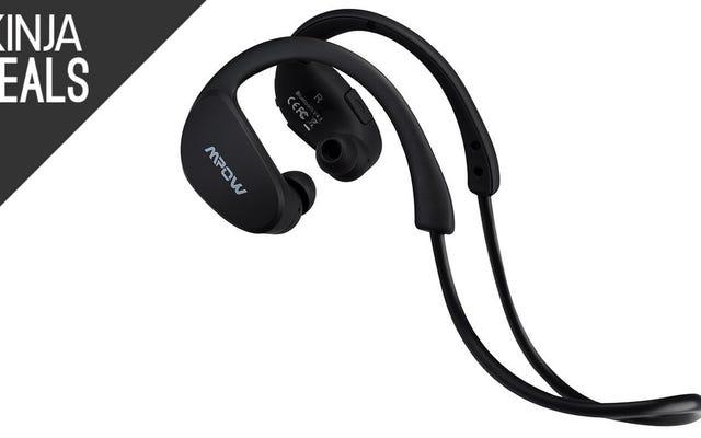 หูฟัง Bluetooth Cheetah ของ Mpow ลดราคาเป็นประวัติการณ์ $23