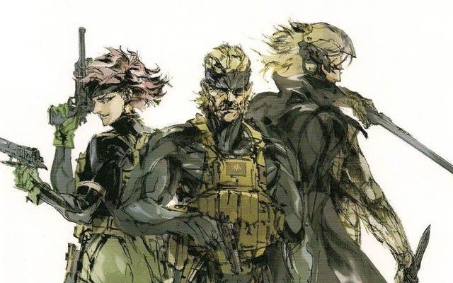 Metal Gear Solid2はマインドコントロールのねじれた実験でした