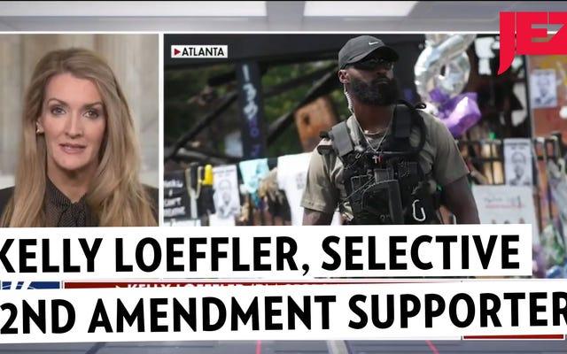 NRAの女王上院議員ケリー・レフラーは、どうやら2番目の修正が黒人に適用されるとは思わない